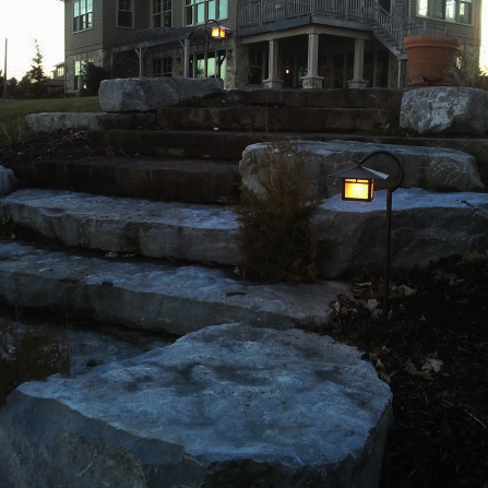 Waterfront Landscape Lighting Project